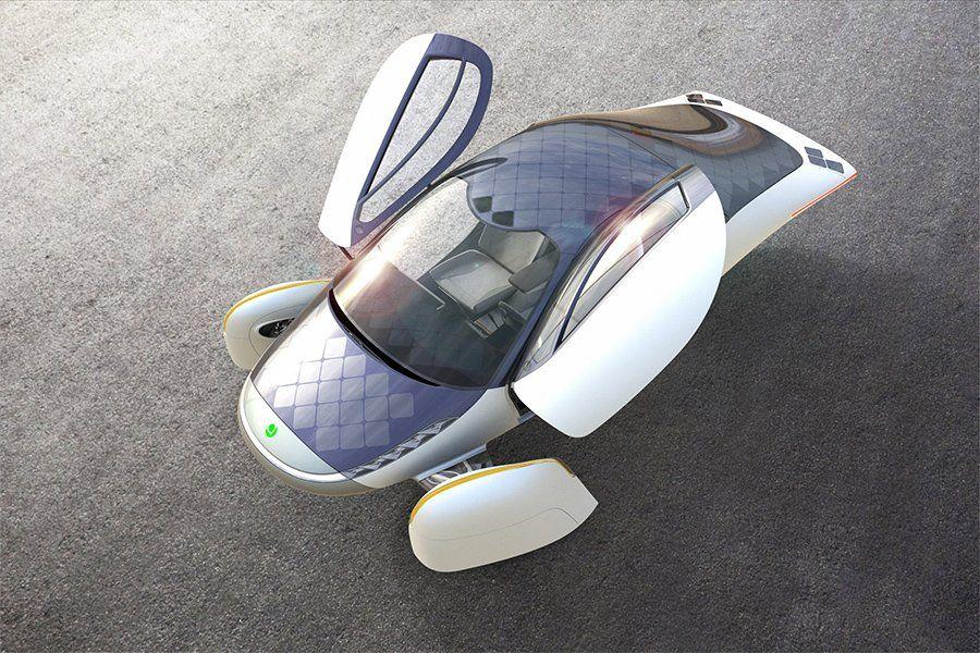 Aptera car solar