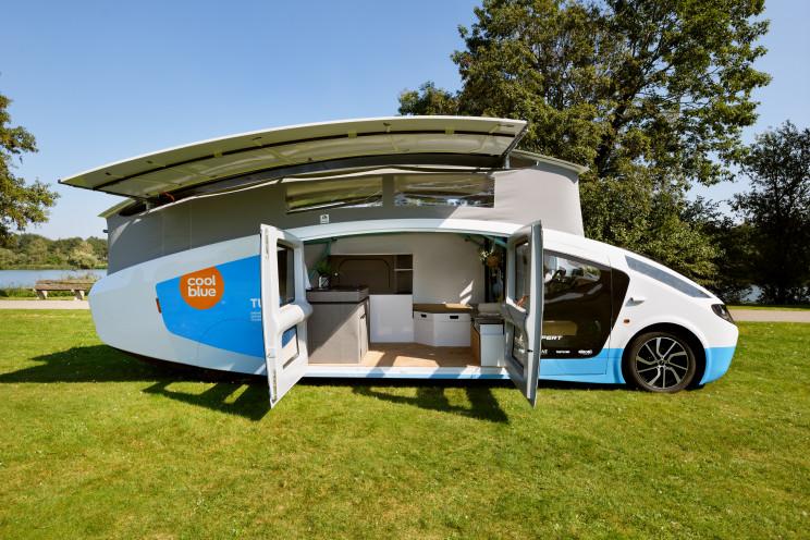 solar electric car