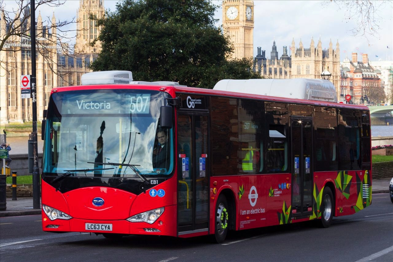 london electric buses