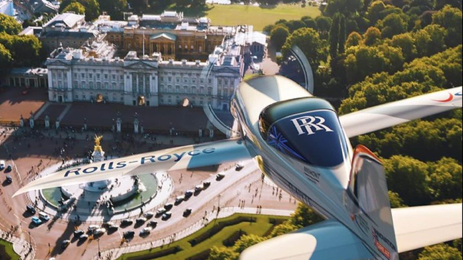 Rolls-Royce Electric Airplane
