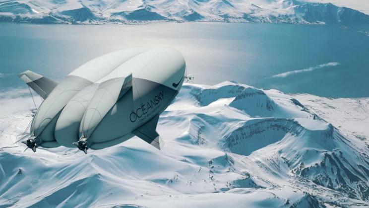 New Luxury Airship