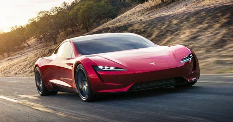 Tesla Founder's Series Roadster