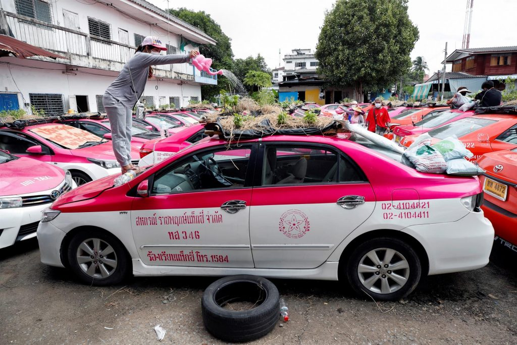 taxi μποστάνια