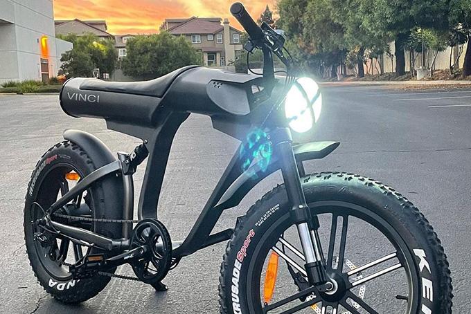 Futuristic E-Bike