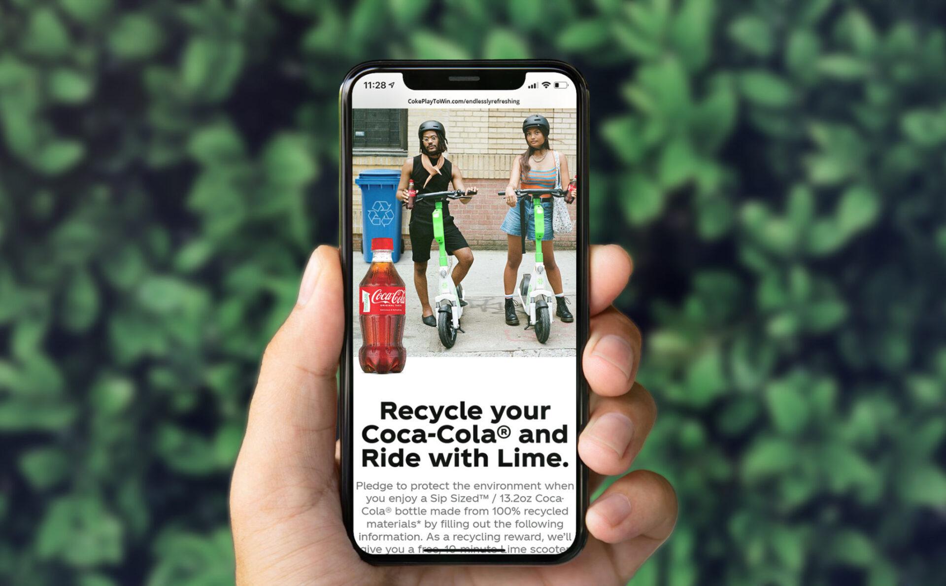 Coca Cola & Lime