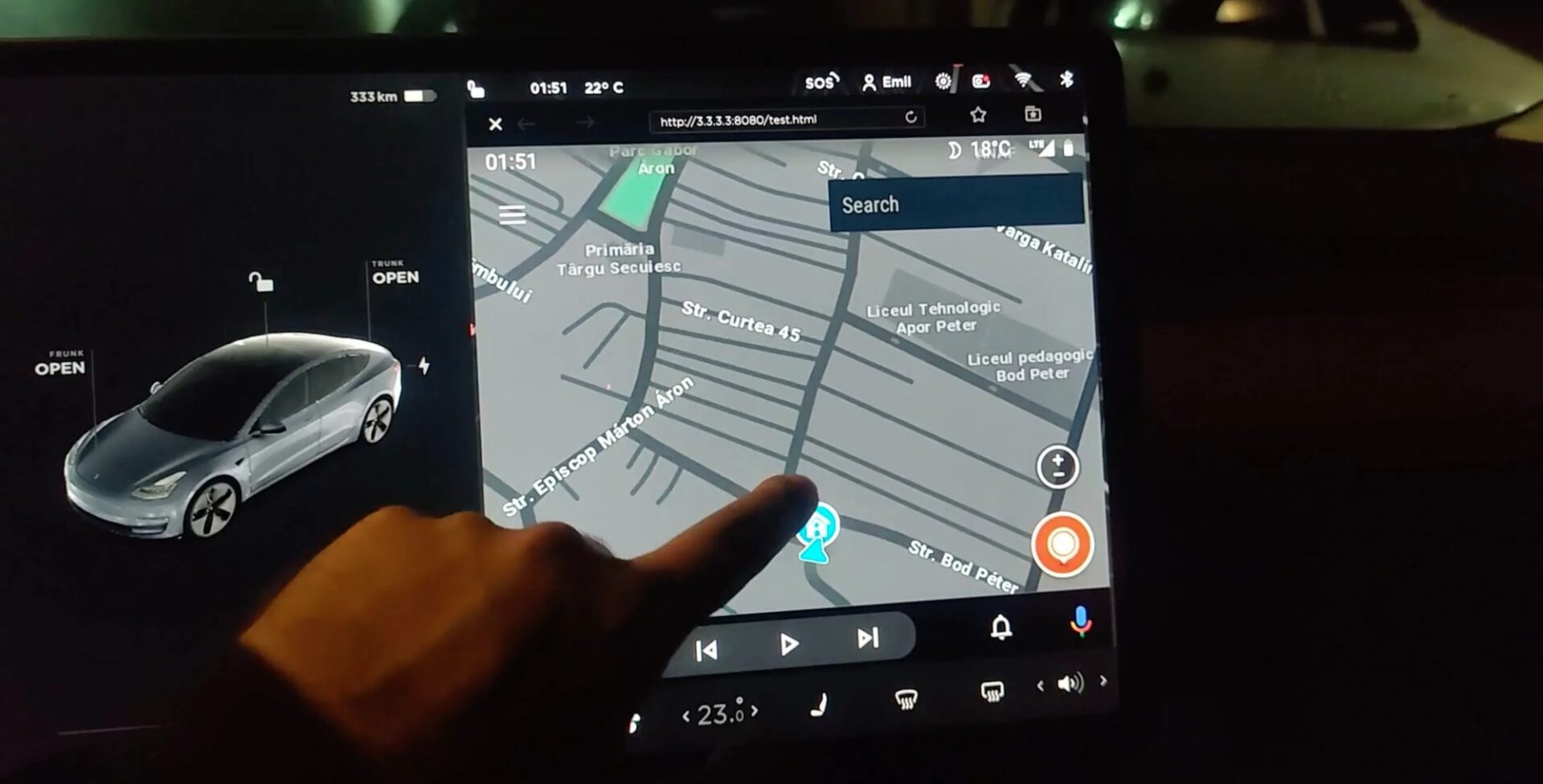 Tesla Android